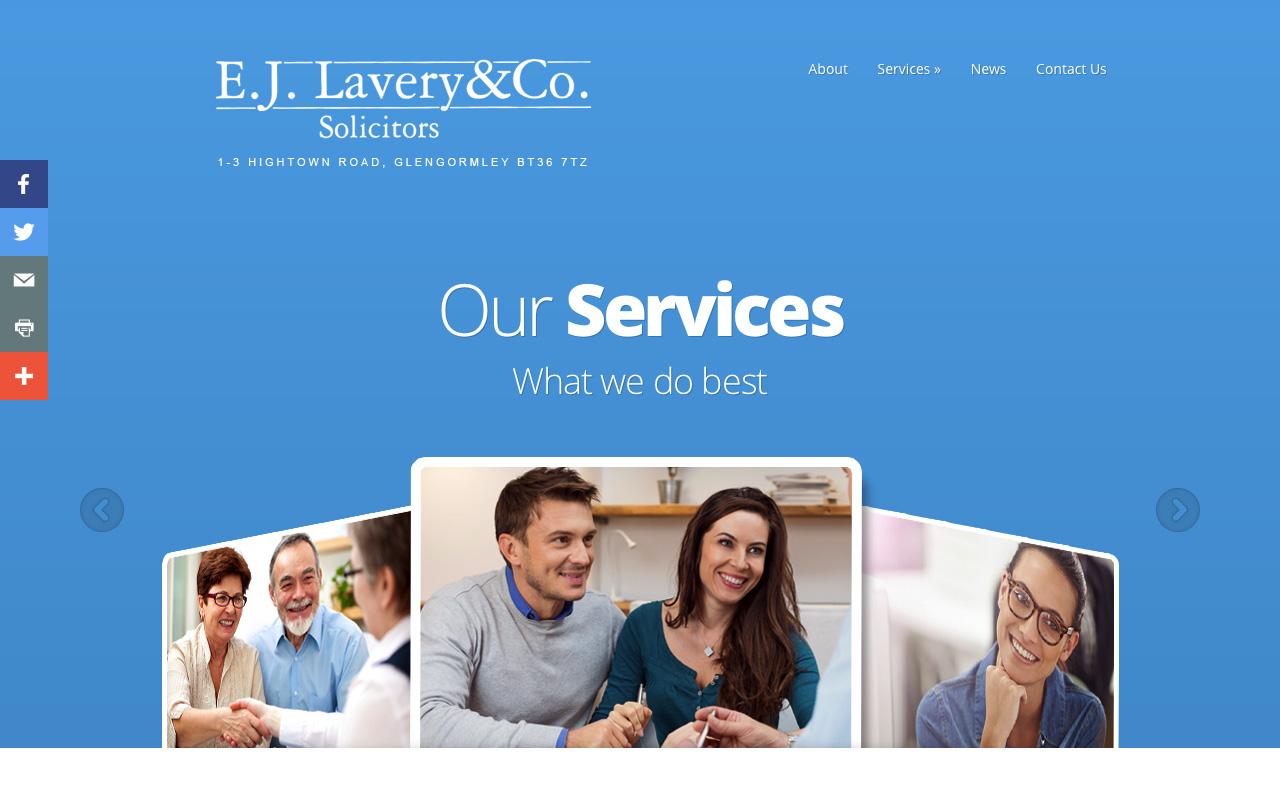 Web designers Belfast project overview EJL 3.