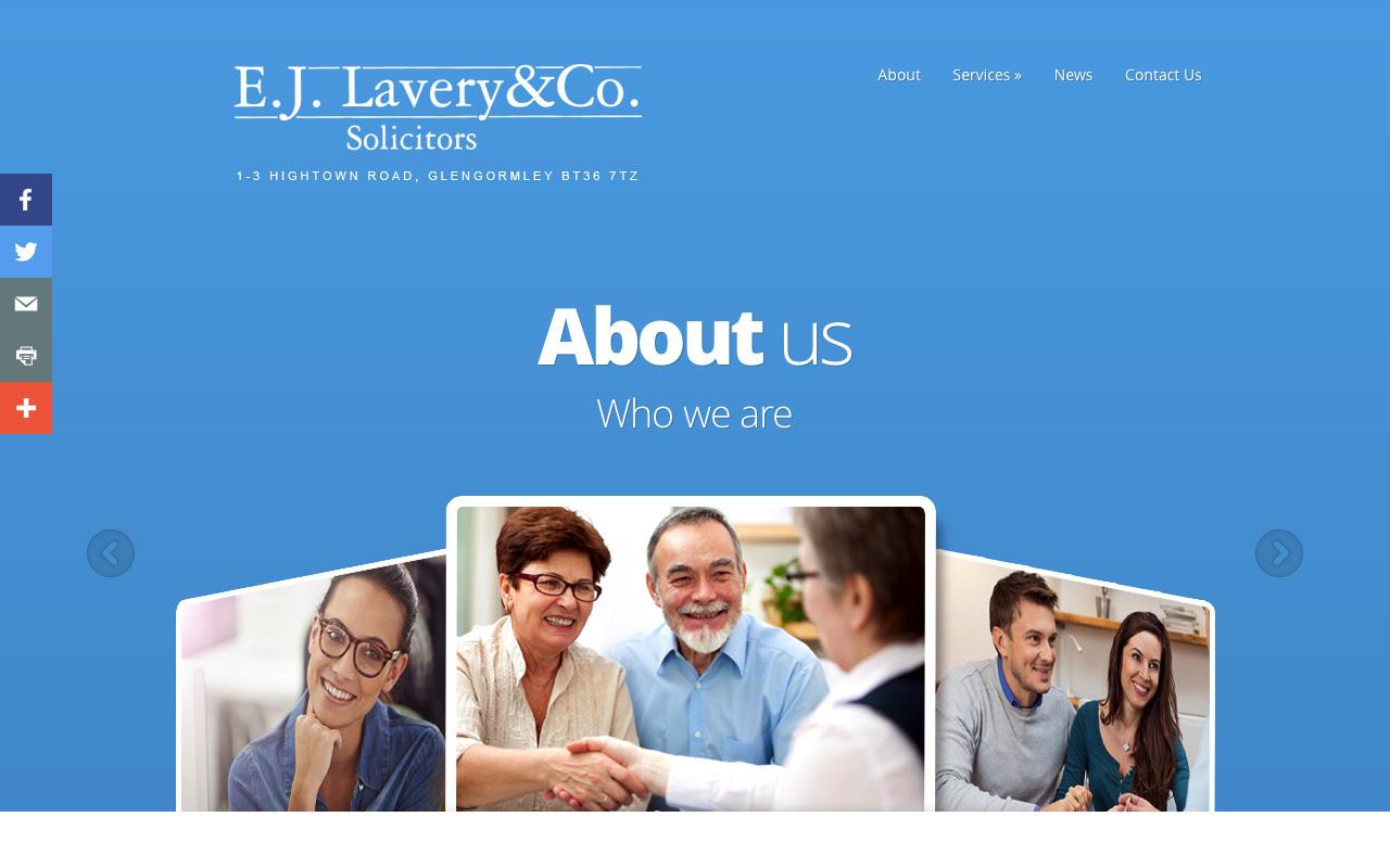 Web designer Belfast project overview EJL 4.