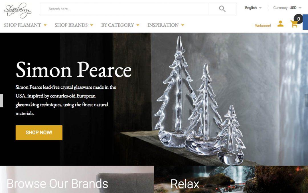 Responsive ecommerce web site design