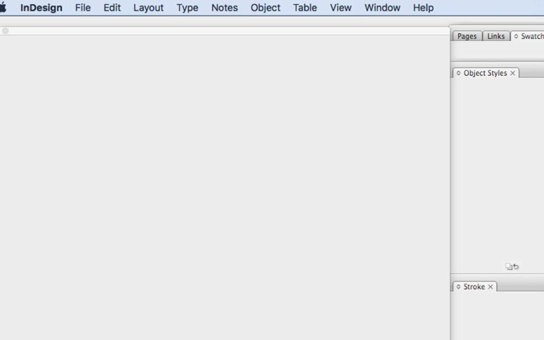 Adobe InDesign CS3 crashing on MacOS High Sierra