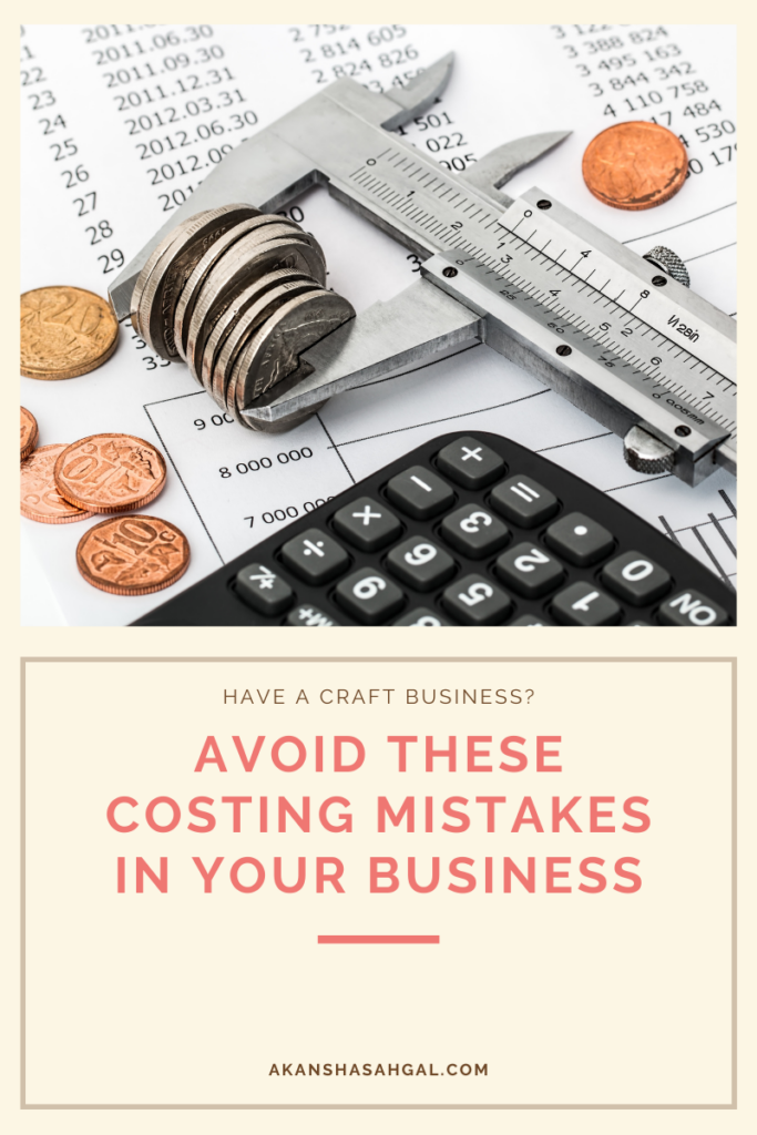 Cost mistakes in handmadebusiness