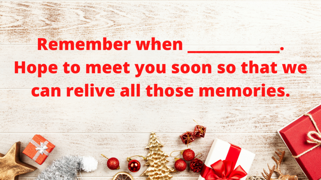 What to write in Christmas cards