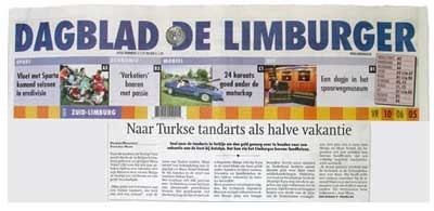 Dutch (the Netherlands) News Paper