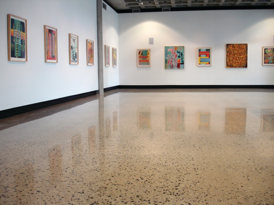 ProFloor™ 3000 Exposed Aggregate High Gloss Finish – Technical Museum