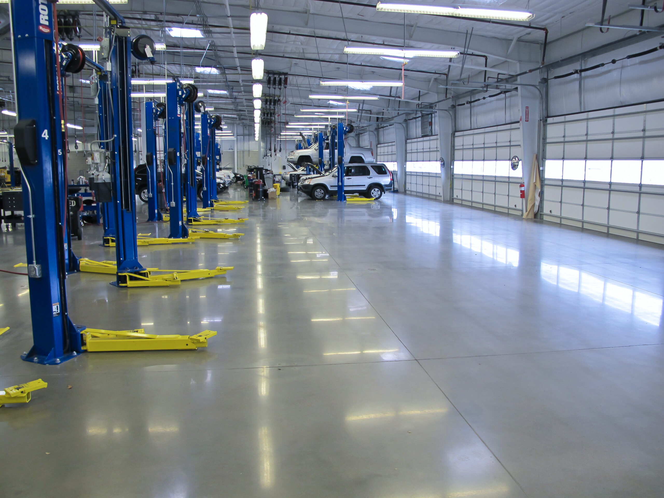 WHY POLISHED CONCRETE?