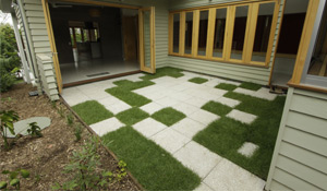 Environmentally Friendly Honed Concrete Outdoor Pavers Brisbane