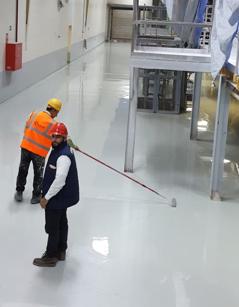 Industrial Epoxy Resin Floor Key Differences