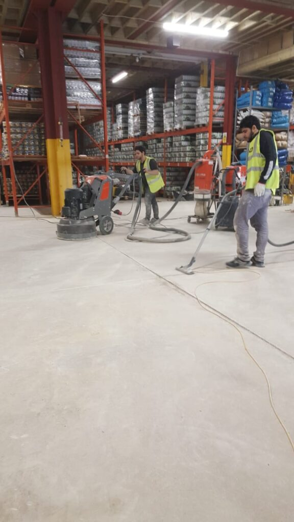 Industrial Flooring Polished Concrete