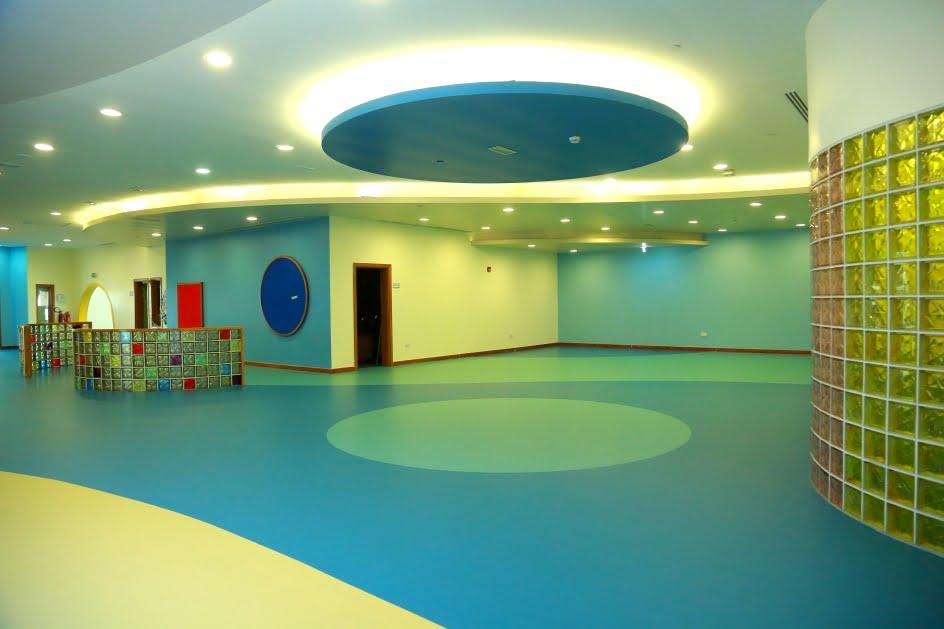 Polyrhythm resin epoxy floor