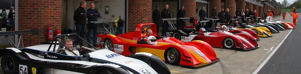 MCR race car line up