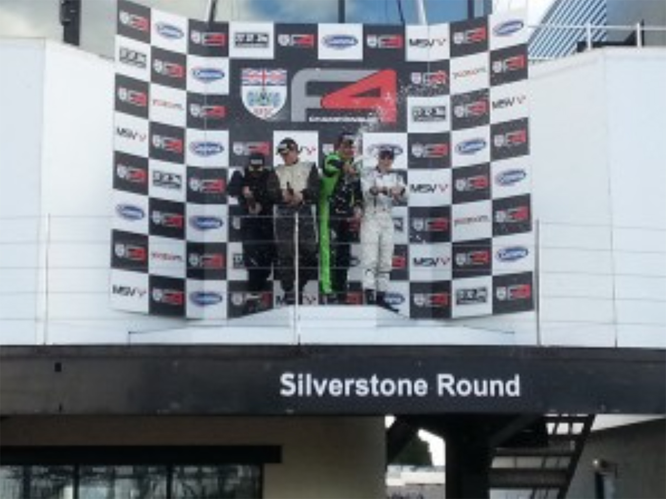 Patrick Sherrington Silverstone GP circuit MCR