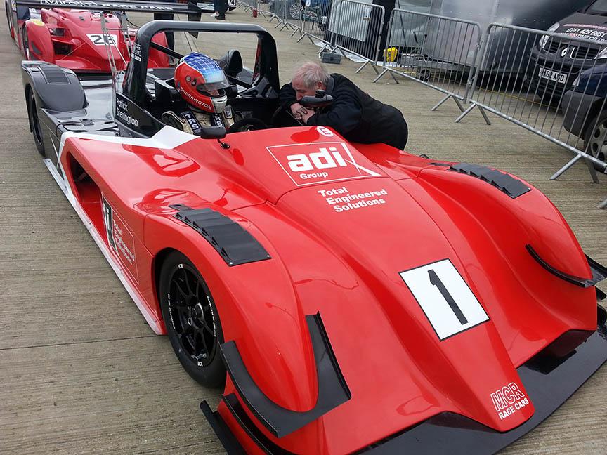 MCR Race Cars Silverstone International Sherrington