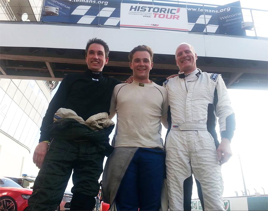 MCS Race Cars at Le Mans Bugatti race circuit