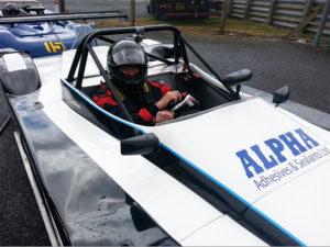 MCR Race Cars Brands Hatch gp Peter Needham
