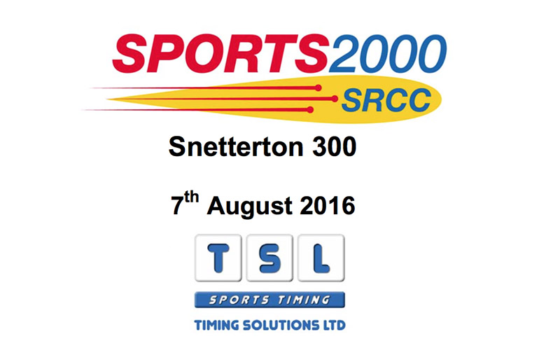Race results for Sports 2000 Championship at Snetterton race circuit