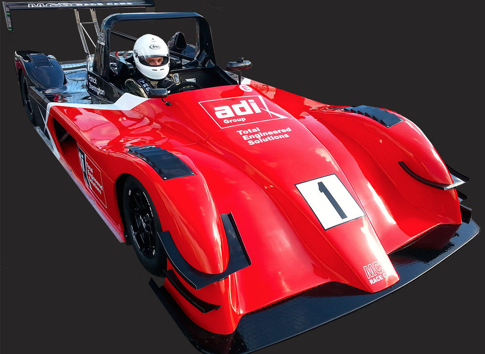 MCR Race Car fibreglass and carbon fibre bodywork