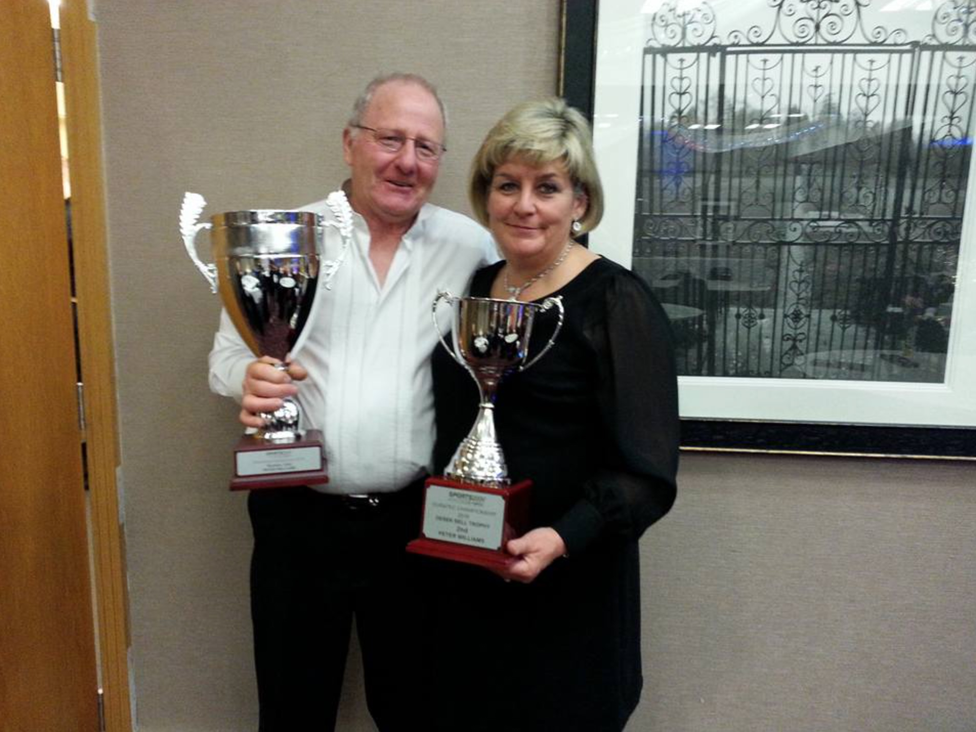 Peter Williams 2nd Sports 2000 Duratec Championship Derek Bell Class, 2nd Overall Sports 2000 Mini Endurance Series with his wife Margaret