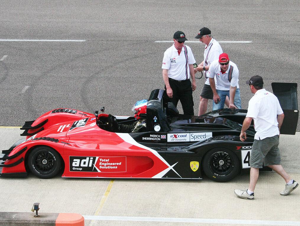 MCR OS spec racing car