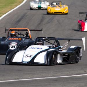 Peter Needham MCR race car driver
