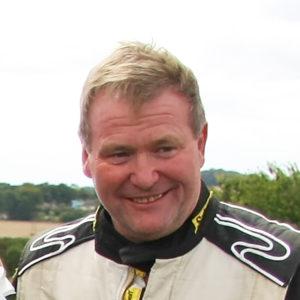 Peter Needham MCR Racing Car Driver
