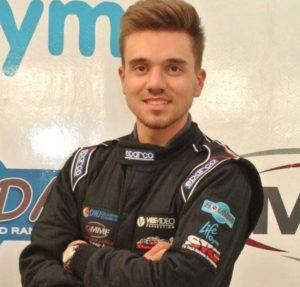 Cameron Davies MCR Race Cars rally driver wales