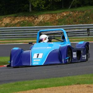 Michael Gibbins MCR Race Car Driver Brands Hatch racing