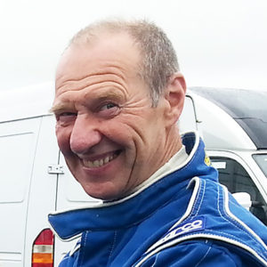 Steve Watkins MCR racing car driver