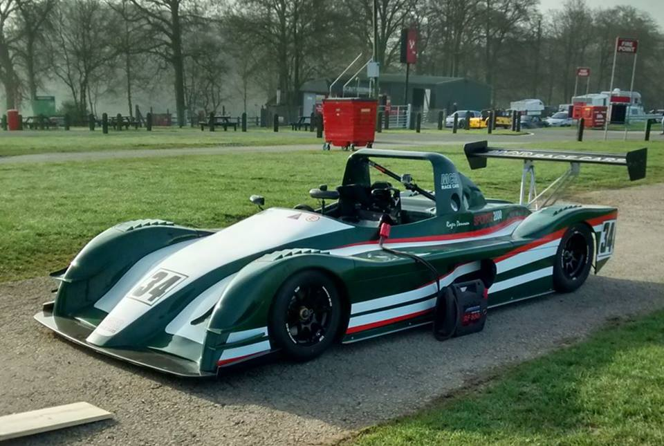 British Racing Green MCR Race Car