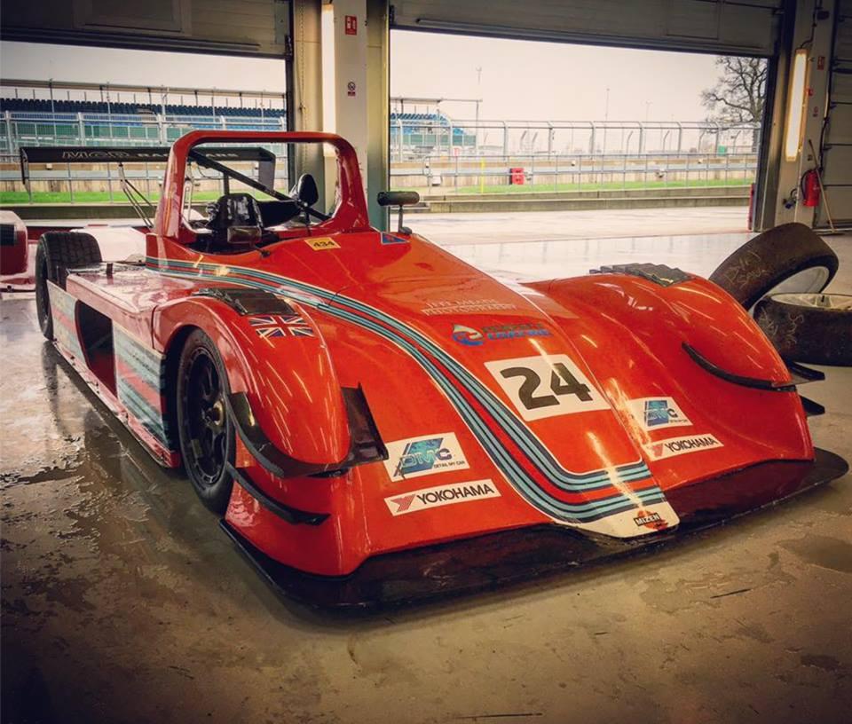 Mizhen tests at Silverstone race circuit