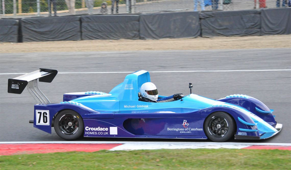 MCR sports prototype racing car for sale