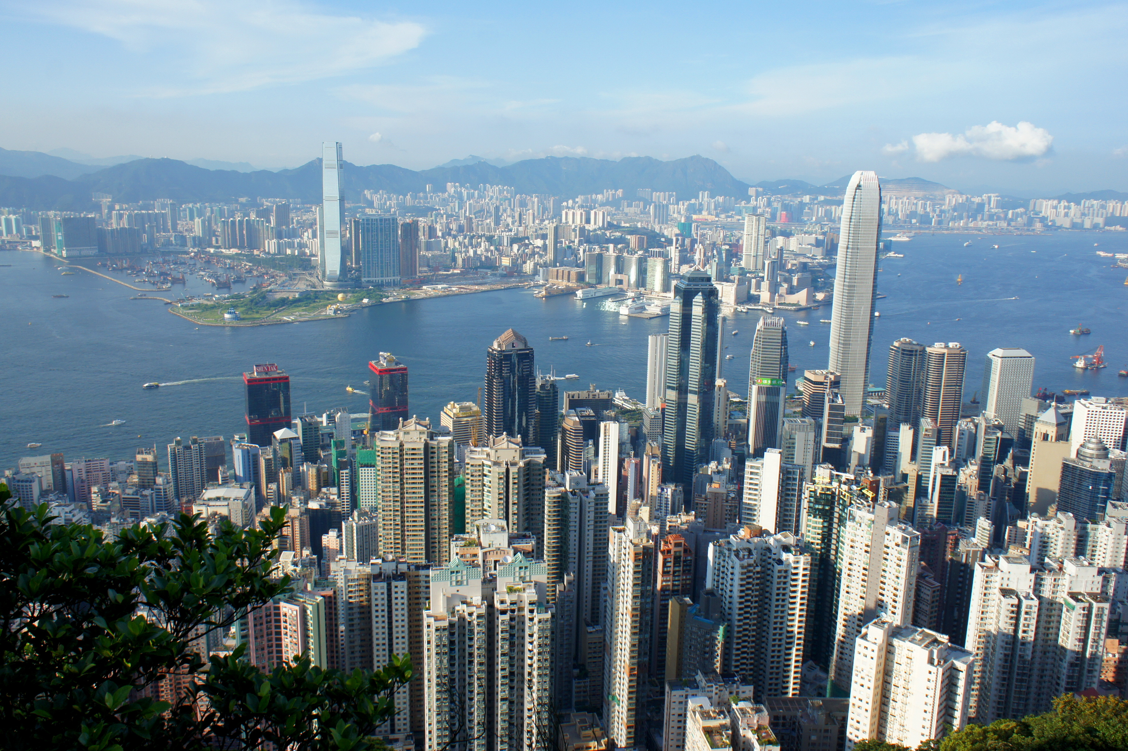 HONG KONG FROM ABOVE  > AN AMAZING & WONDERFUL SPECTACLE