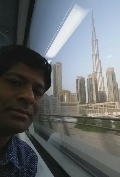 DISCOVER DUBAI & BURJ KHALIFA FROM LAND (TRAIN)