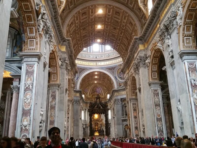 VATICAN CITY-THE HOLIEST SITE OF ROMAN CATHOLIC : HOME OF THE POPE