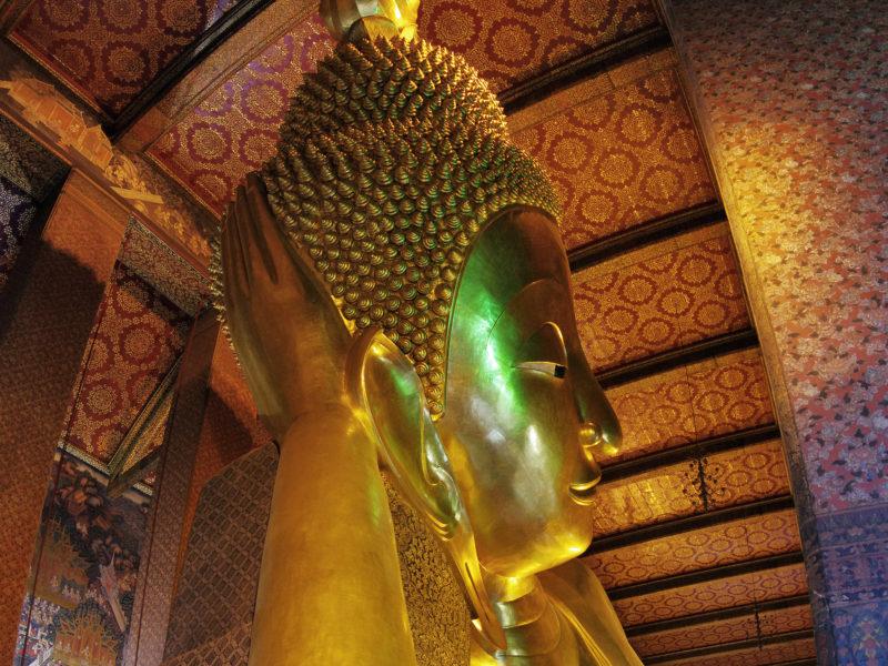 THAILAND : BANGKOK WAT PHO & WAT SAKET