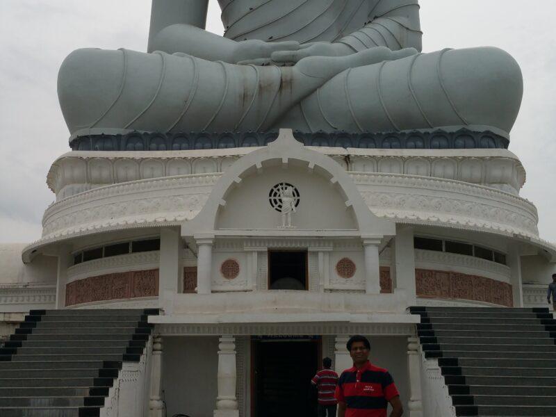 AMARAVATI 5 : DHYANA BUDDHA STATUE