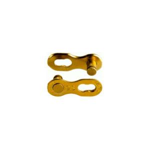 KMC Missinglink 9S Gold Kjedelås