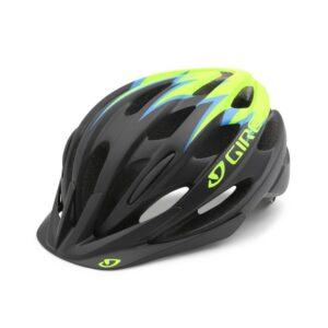 Giro Raze Hjelm Barn Black/Lime UNI 50-57cm