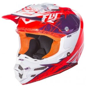 Fly Racing F2 Carbon MIPS Hjelm – Purple Orange