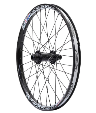 Excess 351 Forhjul 10mm front 20×1.75 Sort