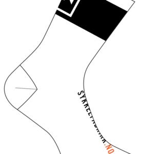 Sykkelfabrikk.no Sokker Hvite