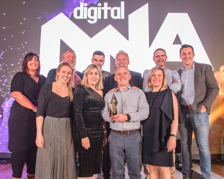 Neueda - Company of the year on stage