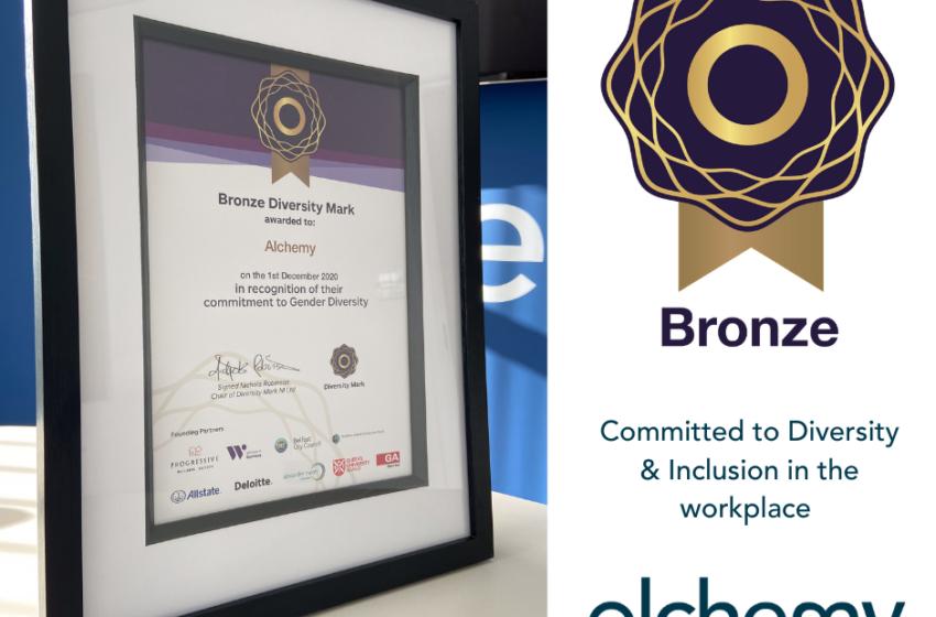 Alchemy Technology Services receives Bronze Diversity Mark NI Award