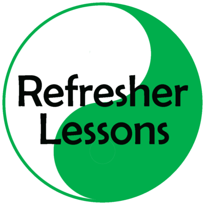 Manual or Automatic Refresher lessons