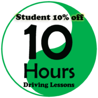 Student Deals – 10 Hours Automatic Driving Lessons