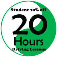 Student Deals – 20 Hours Automatic Driving Lessons