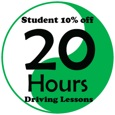 Student deals 20 hours driving lessons