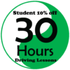 Student Deals 30 Hours Driving Lessons
