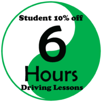 Student Deals – 6 Hours Manual Driving Lessons