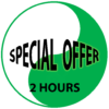 Special offer for 2 hours automatic