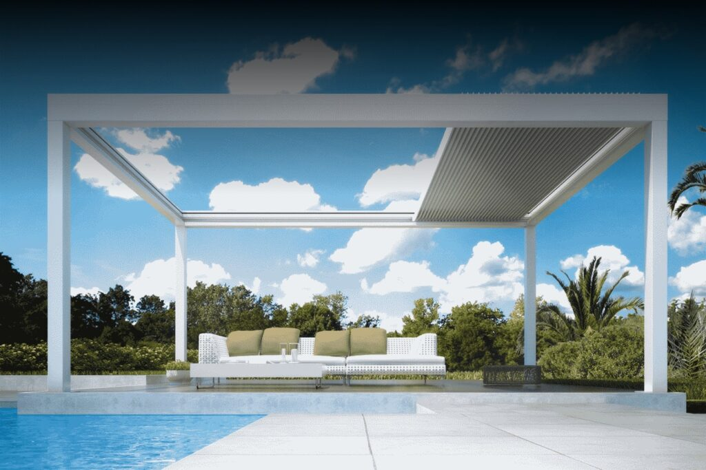 Pergolas, Roofing & Shades in Motion